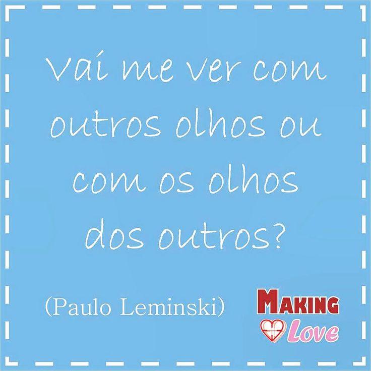 Bom dia, hoje teremos texto novo no blog, fiquem ligados www.makinglove.com.br. #MakingLove #Blog #PauloLeminski