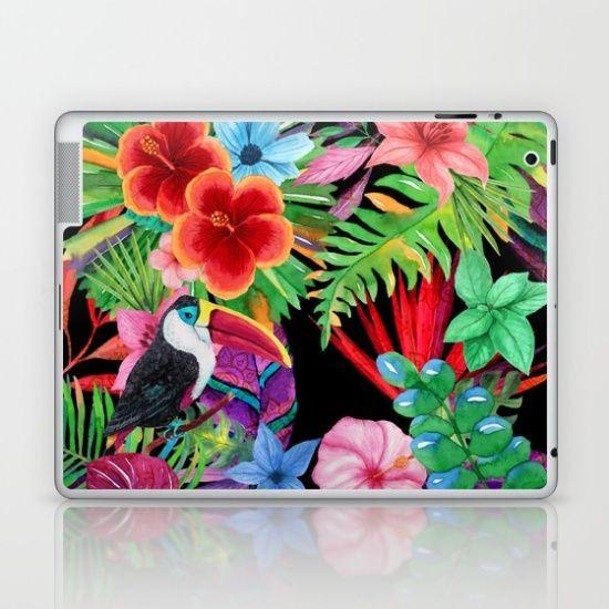 hawaiian beauty Laptop & iPad Skin