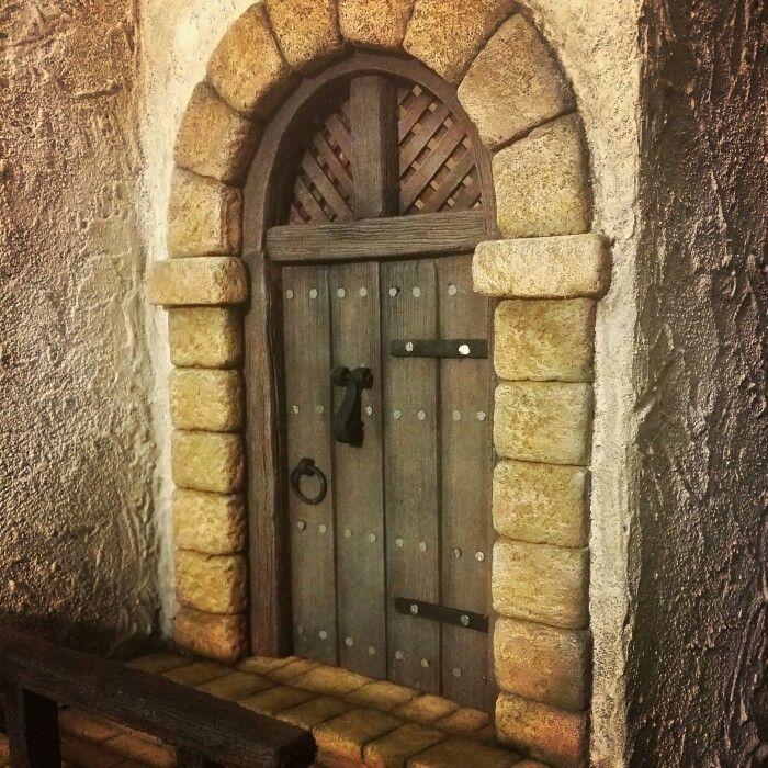 Puerta posada....