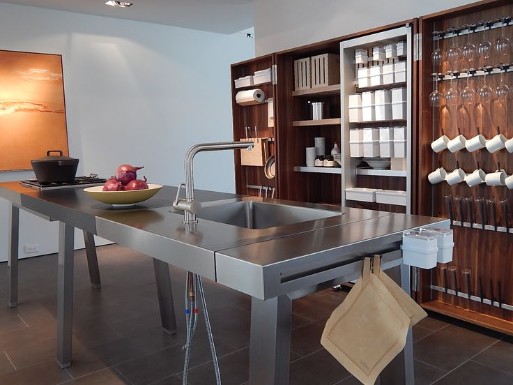 B2 workbench and cabinet at bulthaup dallas to learn more for Bulthaup kitchen cabinets