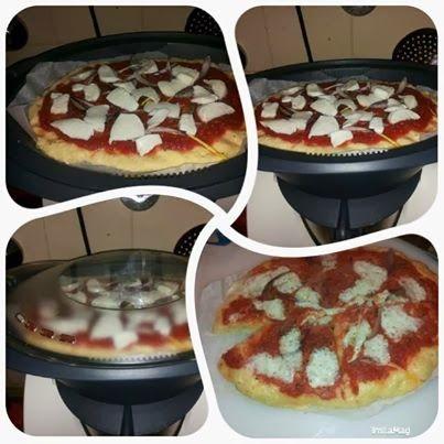 ⇒ Le nostre Bimby Ricette - Consigli per cucinare col Bimby: Bimby, Pizza al Vapore al Varoma
