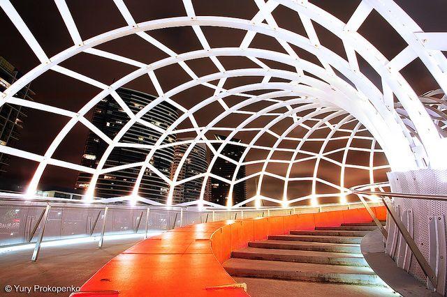 Melbourne, Australia :: Webb Bridge by -yury-, via Flickr