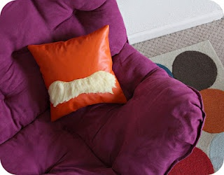 Lorax pillow? Definitely will be making this.  For my college dorm room? yes.