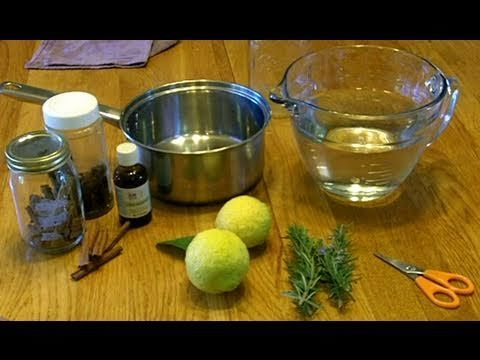 How to make a THIEVES OIL BLEND at home for a Household Cleaner