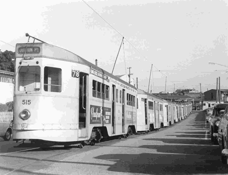Tram jam date unknown. Where's the driver of the Dutton Park tram? Also why is the Dutton Park tram (78) ahead of a Balmoral (60) and Enoggera (72) tram? None ran on the same roads. Maybe these are coming from the depot. We'll never know.