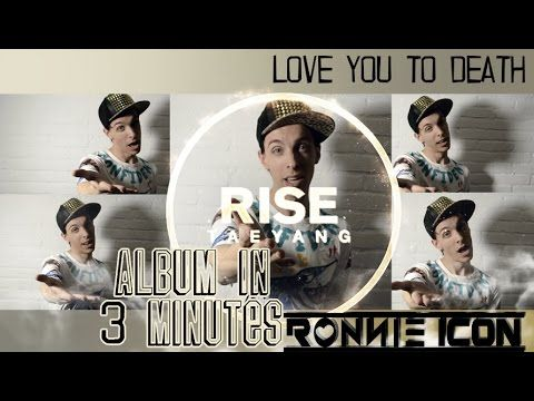 TAEYANG RISE ALBUM IN 3 MIN BY RONNIE ICON
