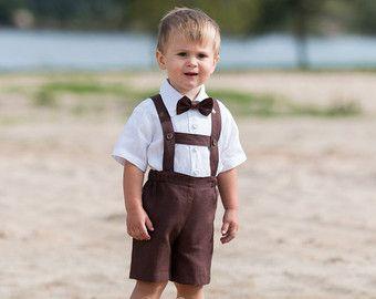 Anello portatore vestito Baby ragazzo battesimo vestiti