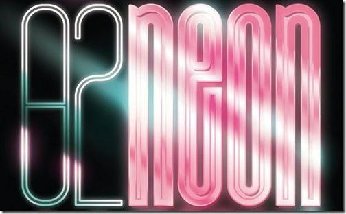 Рисуем неоновый логотип в Фотошоп