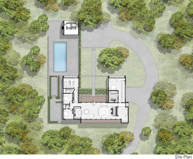 Modern Home In New Canaan Connecticut Site Plan Picture Photo Modern Home In New Canaan