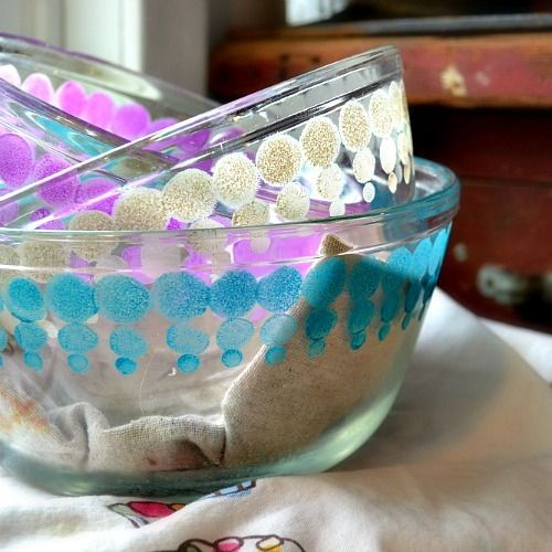 How to create the look of vintage pyrex.