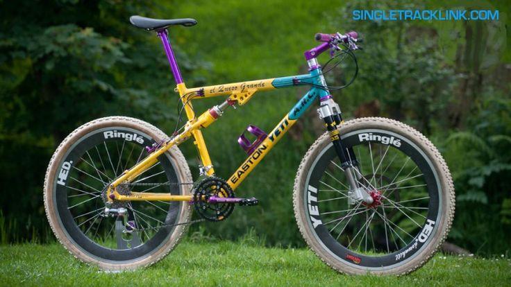 Yeti Arc AS- Lt retro full-suspension mountain  bike