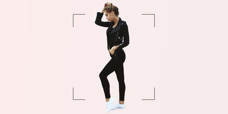 Outfits 'all-black' para verte chic durante la semana