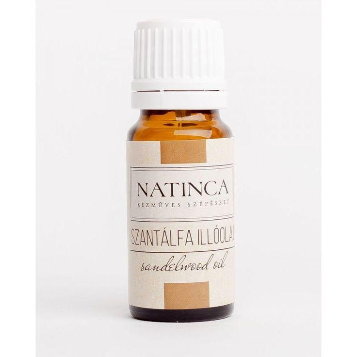 Szantálfa illóolaj (Sandelwood oil) 10ml