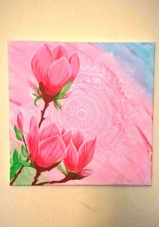mandala colors painted