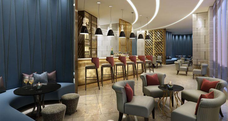 Penthouse Hotel - Angeles City, Philipines designed by Studio HBA.