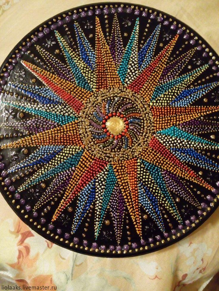 Купить Мандала. Балансировка чакр - мандала, медитация, чакры, балансир, авторская ручная работа