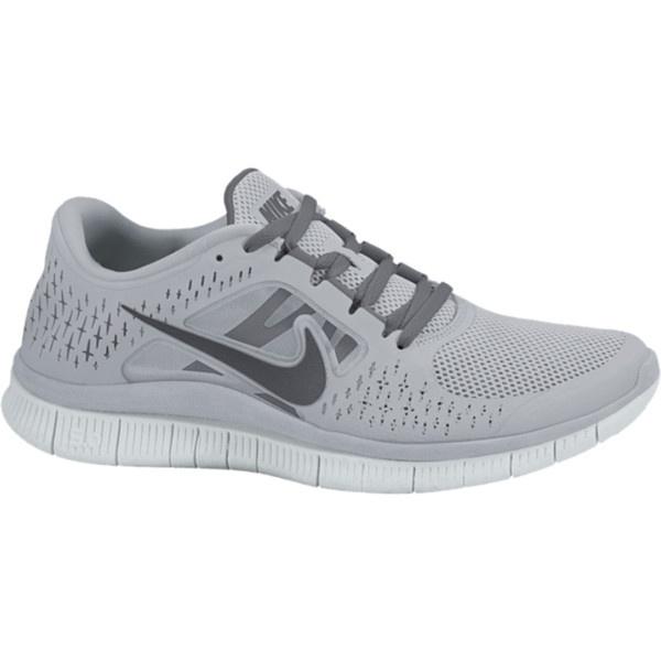 nike free run+ 3 womens running shoes wolf grey