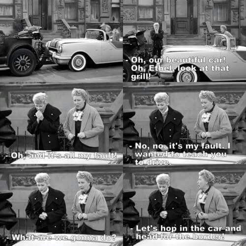 Image result for i love lucy quotes from scenes