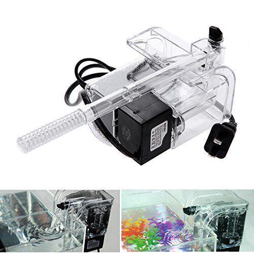 External Oxygen Pump Waterfall Filter for Fish Turtle Tank Aquarium 220-240V Aquariums Pumps Aquariums Accessories Vacuum