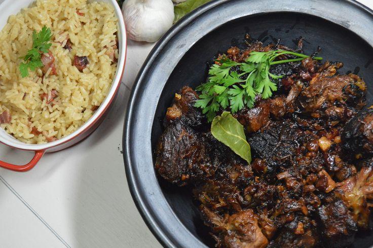 Nacos de Carne Barrosã no forno com Arroz de Enchidos - Malagueta Man