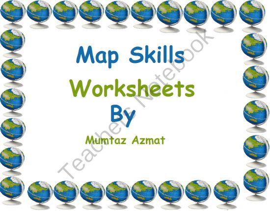 20 best Map skills images on Pinterest Teaching social studies