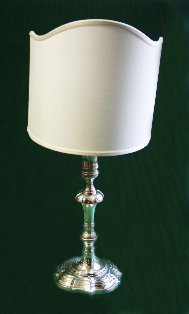 Lampada sheffield barocca. H. cm.45. http://www.pisanogenova.it/catalogo/101-lampada-sheffield-barocca