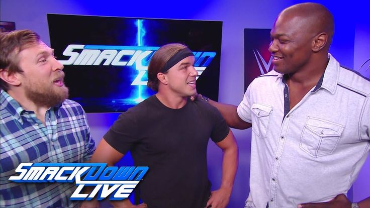 Shelton Benjamin returns to WWE to team up with Chad Gable: SmackDown LIVE, Aug. 22, 2017 - YouTube