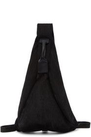 The Viridi-anne - Black Single Strap Backpack