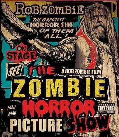 """This release from horror metal star Rob Zombie captures a live performance by the artist, recorded over two nights in Texas and featuring tracks like """"Living Dead Girl"""" and """"House of 1000 Corpses. Col"""