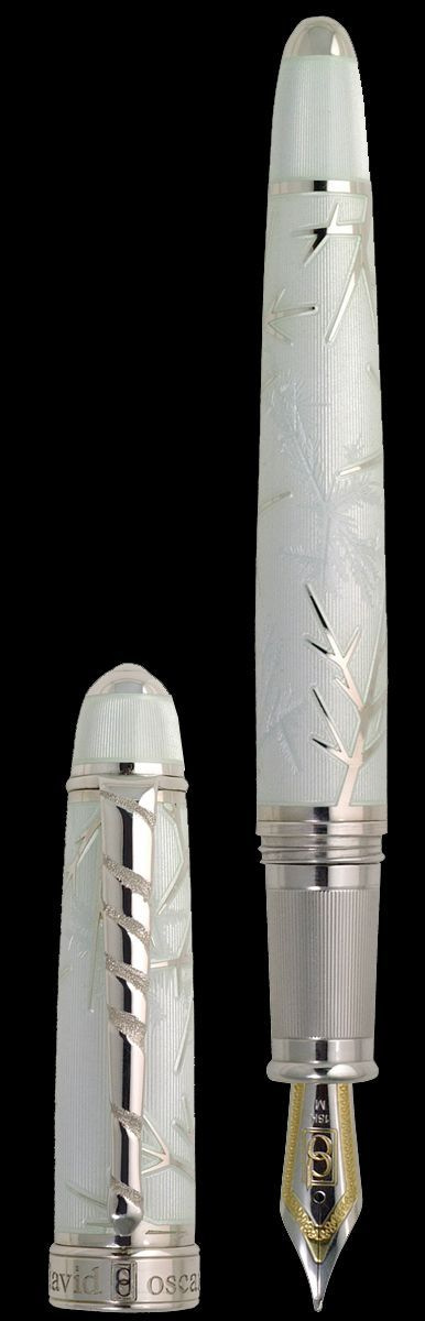A pen of quality, craftsmanship and beauty! Winter, by David Oscarson