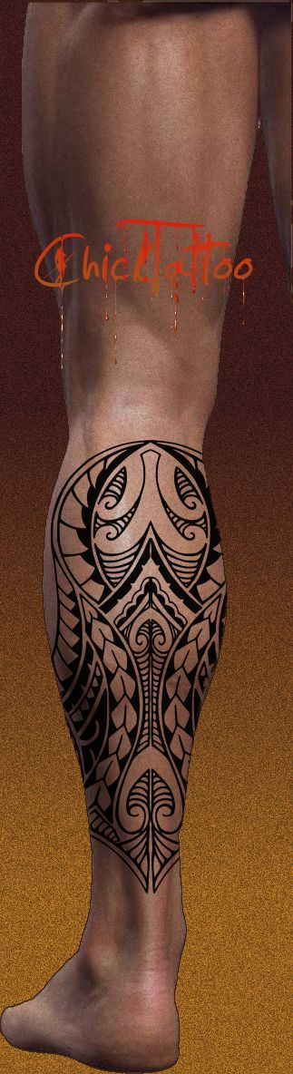 Polynesian 3/4 sleeve 01-A by dfmurcia on deviantART