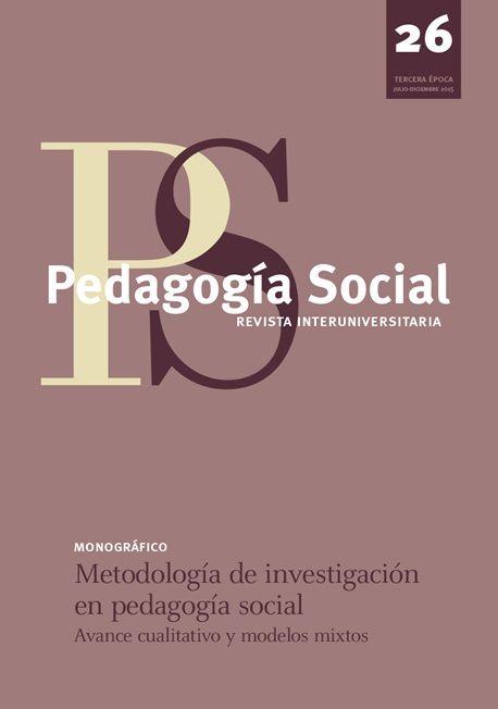 http://www.upo.es/revistas/index.php/pedagogia_social/issue/view/PSRI_2015.26  Metodología de investigación en la Pedagogía Social (avance cualitativo y modelos mixtos)