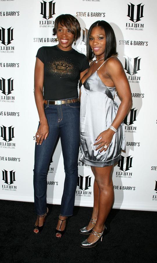 Venus & Serena Williams  @ Eleven launch