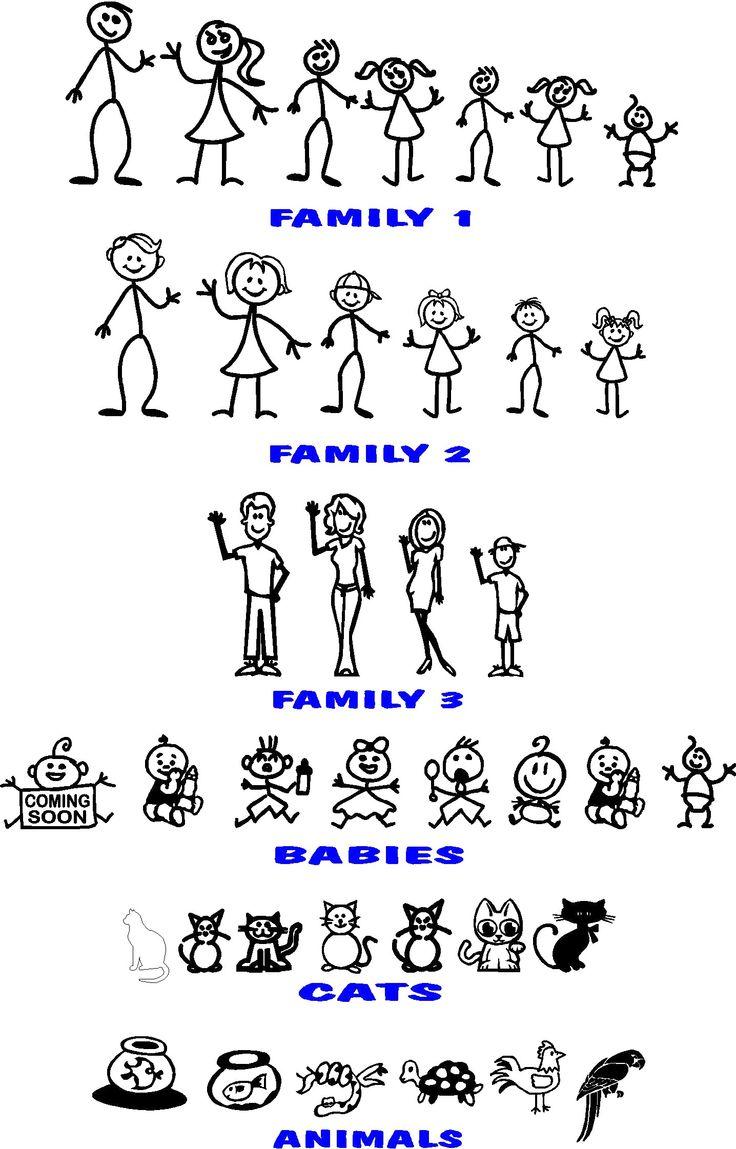 stick family                                                                                                                                                      Más