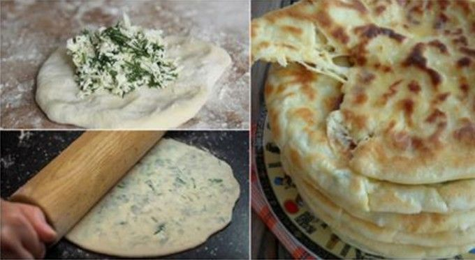 Výborné jogurtové placky plněné lahodným sýrem připravené za 30 minut