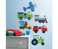 Sticker Trains, Planes and Trucks