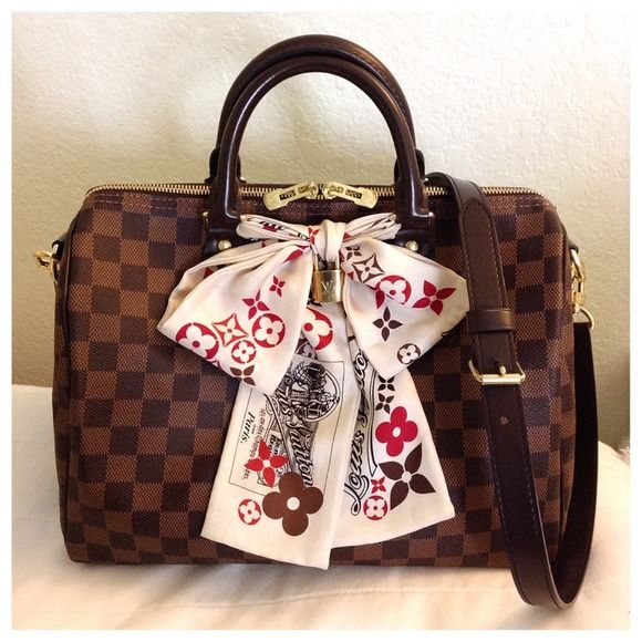 Louis Vuitton Speedy Damier Ebene, сумки модные брендовые, http://bags-lovers.livejournal