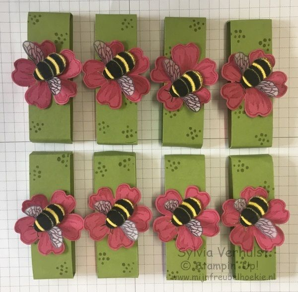 Workshop Dragonfly Dreams, I used the bee from the stampset#Dragonfly Dreams#Stampin' Up!