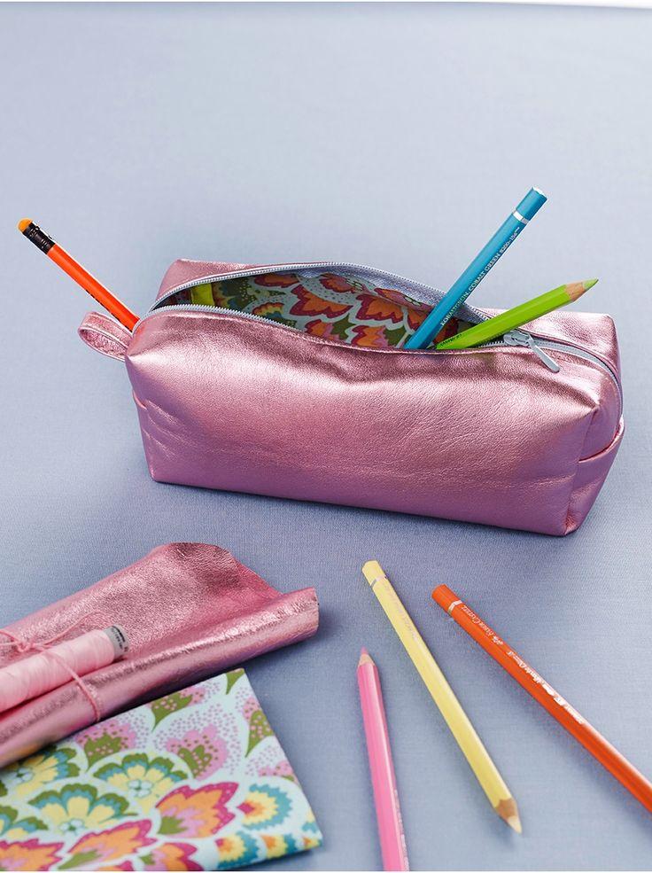 Zum Schulstart: Federmäppchen nähen – How To – Anleitungen – burda style