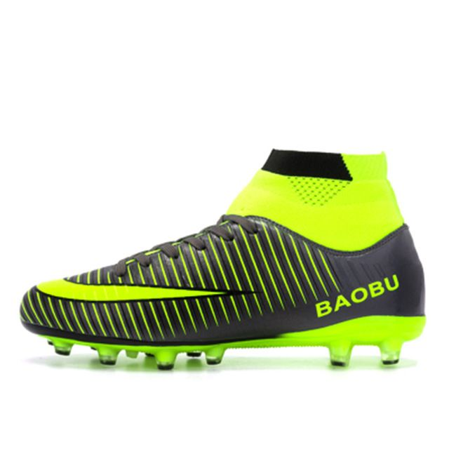 1bc271683e55c Leoci Hot Sale Mens Big Size Soccer Cleats High Ankle Football Shoes Long  Spikes Outdoor Soccer Traing Boots for Men High Ankle   I Sport Soccer    Football ...