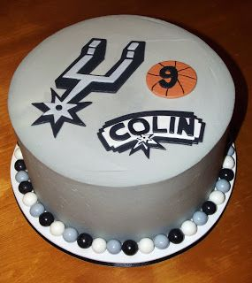 Suzy's Sweet Shoppe: Spurs Cake