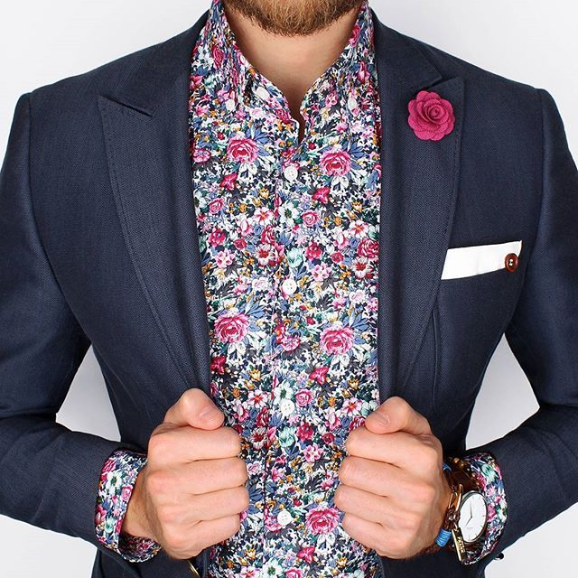 The slim-fit Toulouse shirt by @Grandfrank_official is truly one of a kind! Get creative Gents - www.Grandfrank.com