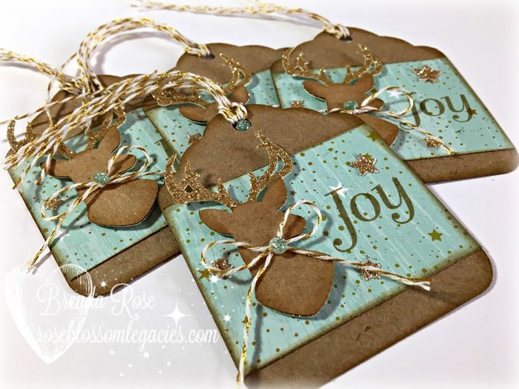For the next few posts, I am going to show you some Christmas tags. When it comes to tags, search through your scraps and look at your Cri...