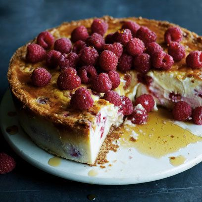 James Martin baked New York raspberry cheesecake | best cheesecake recipes | Red Online