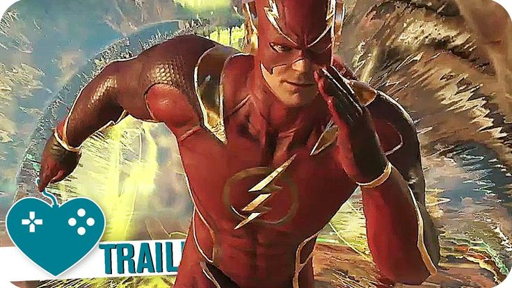 INJUSTICE 2 Trailer The Flash (2017) PS4, Xbox One Game