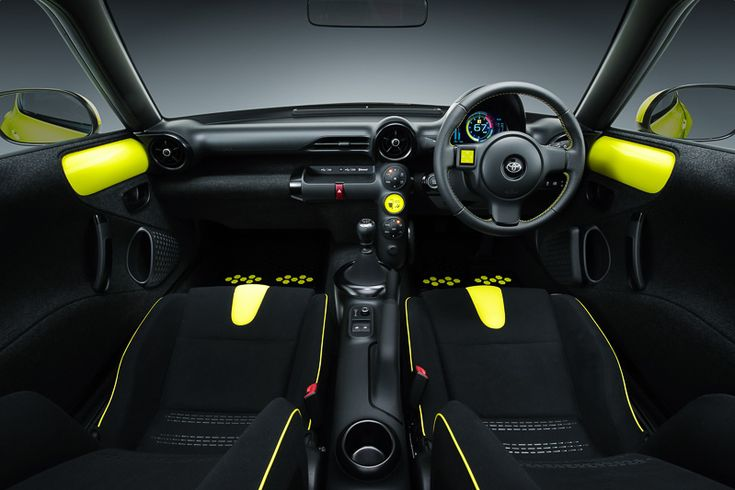 """Toyota, a compact FR """"S-FR"""" of the Vitz size at the Tokyo Motor Show 2015 the world premiere - Car Watch (http://car.watch.impress.co.jp/docs/news/20151008_724694.html) #Car #TOYOTA"""