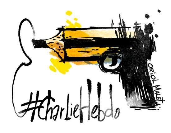 """No ens rendirem #CharlieHebdo"""