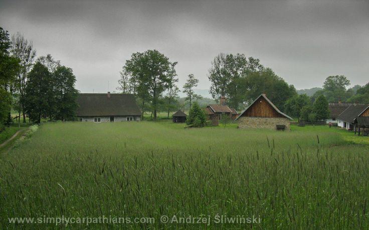 Rural landscape - an open air museum in Podkarpacie Province in Poland. www.simplycarpathians.com