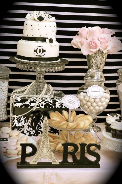 "Photo 6 of 13: Coco Chanel/Parisian / Birthday ""35th Birthday Celebration""   Catch My Party"