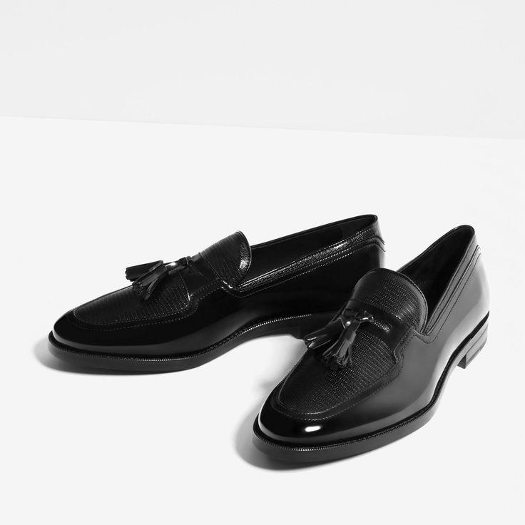 les 25 meilleures id es concernant mocassin homme zara sur pinterest zara chaussures homme. Black Bedroom Furniture Sets. Home Design Ideas